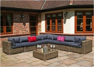 Bring the indoors outside to create a family hub