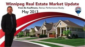 Winnipeg Real Estate Market Update for May 2013