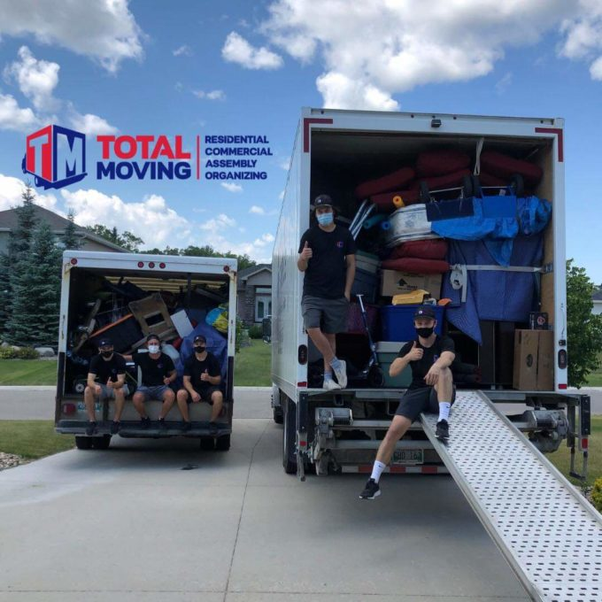 Total Moving Winnipeg will help with preparing your furniture