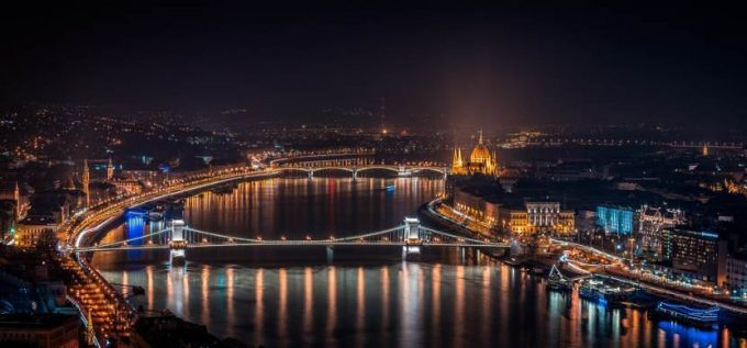 Budapest at Night (Night time photography)
