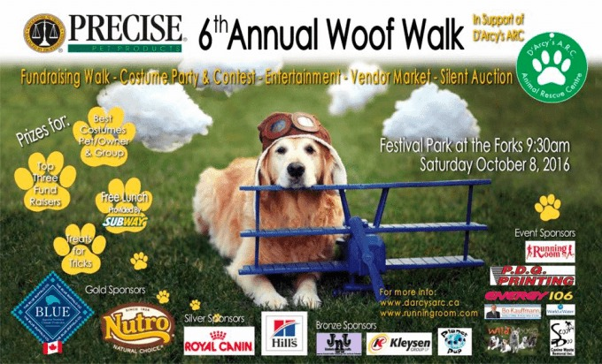 D'Arcy's A.R.C. 6th annual Precise Pet Products Woof Walk