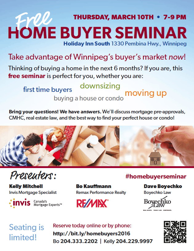 Free Home Buyer Seminar poster
