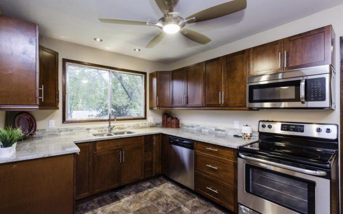 Kitchen real estate photos