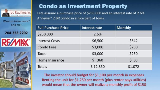 Buying Rental Properties - Investing and Profiting in Winnipeg Real Estate
