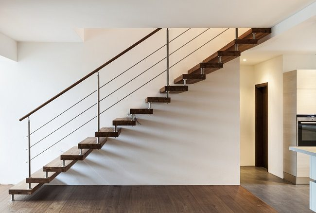 Modernize Your Home With Cantilevered Stairs