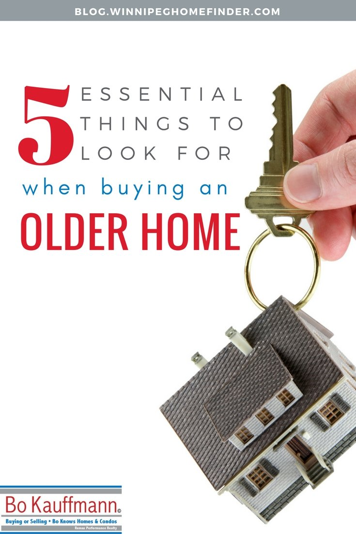 5 Top Things To Look For When Buying An Older Home