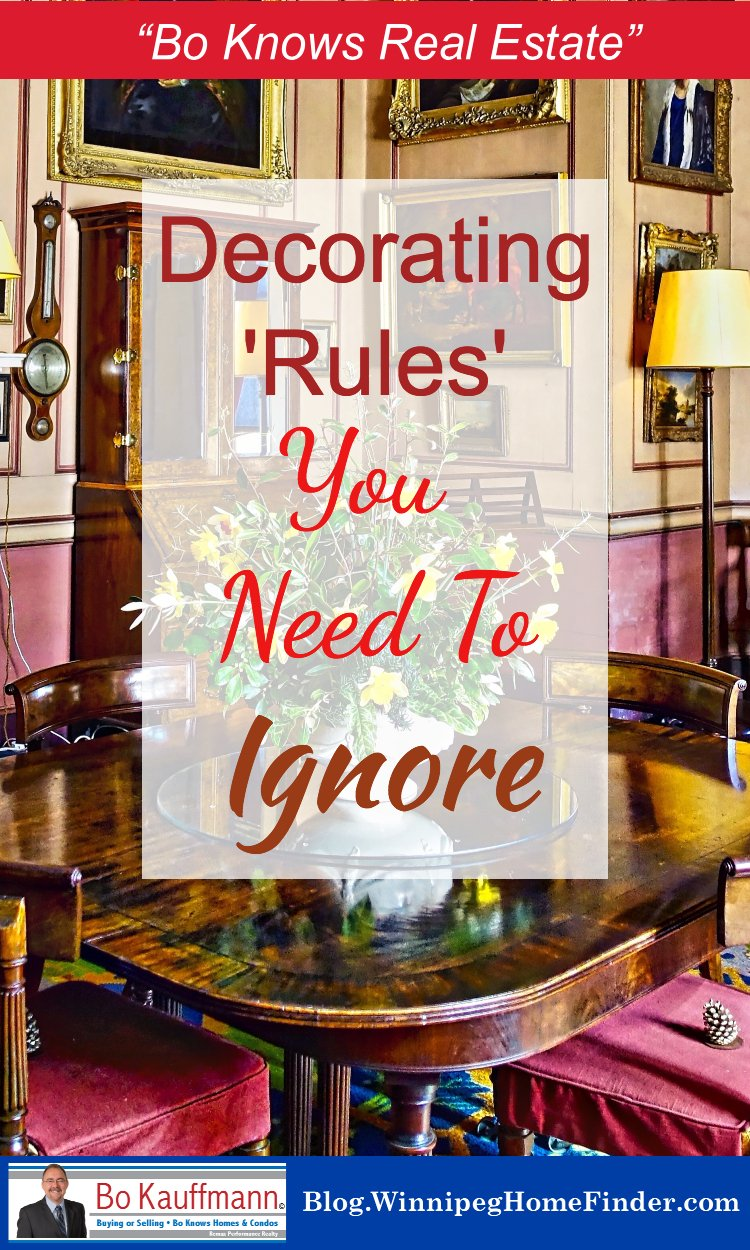Rules of Decorating to Start Ignoring Right Now