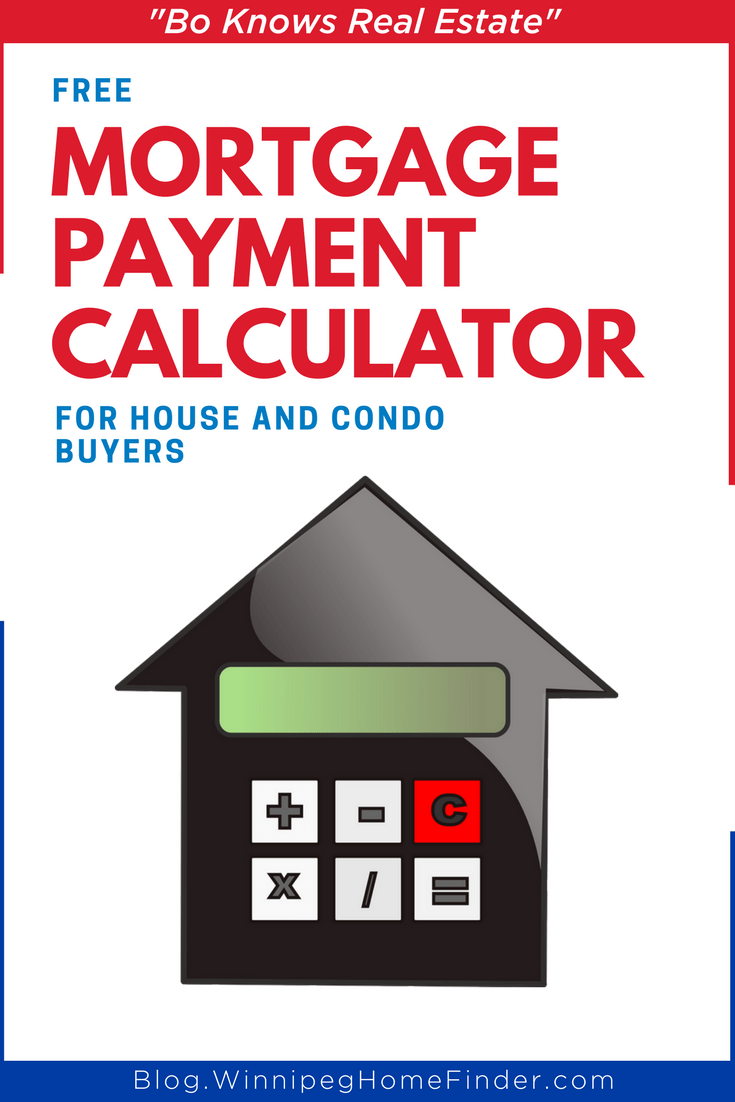 Mortgage Payment Calculator for Winnipeg House and Condo Buyers