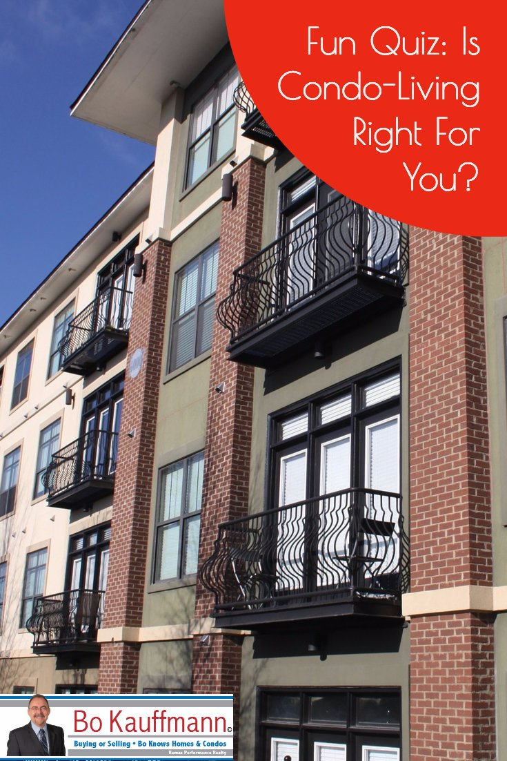 Quiz for home buyers: Is condo living right for you?