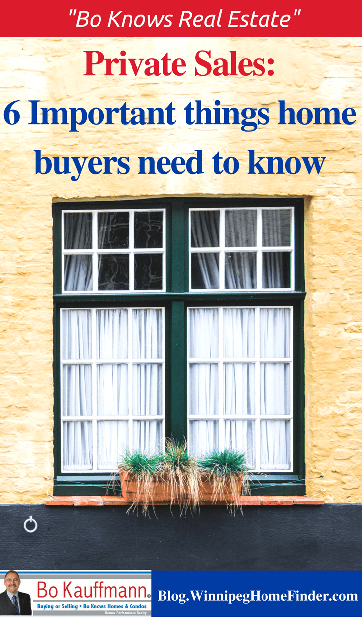 Private Sales: 6 Important Things Home Buyers Need To Know