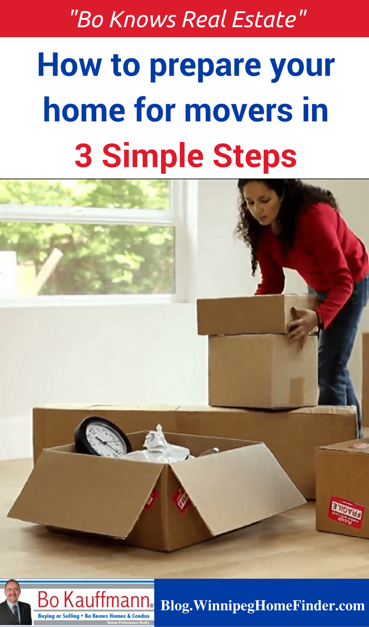 3 Simple Steps To Prepare Your Home For Movers