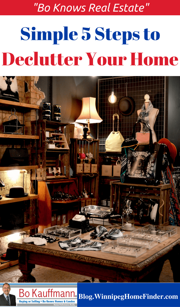 Simple 5 Step Process To Declutter Your Home