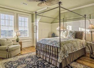 Master Bedroom Home Staging