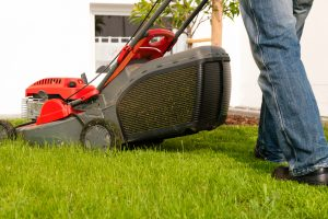 lawnmowing to prepare your yard for winter