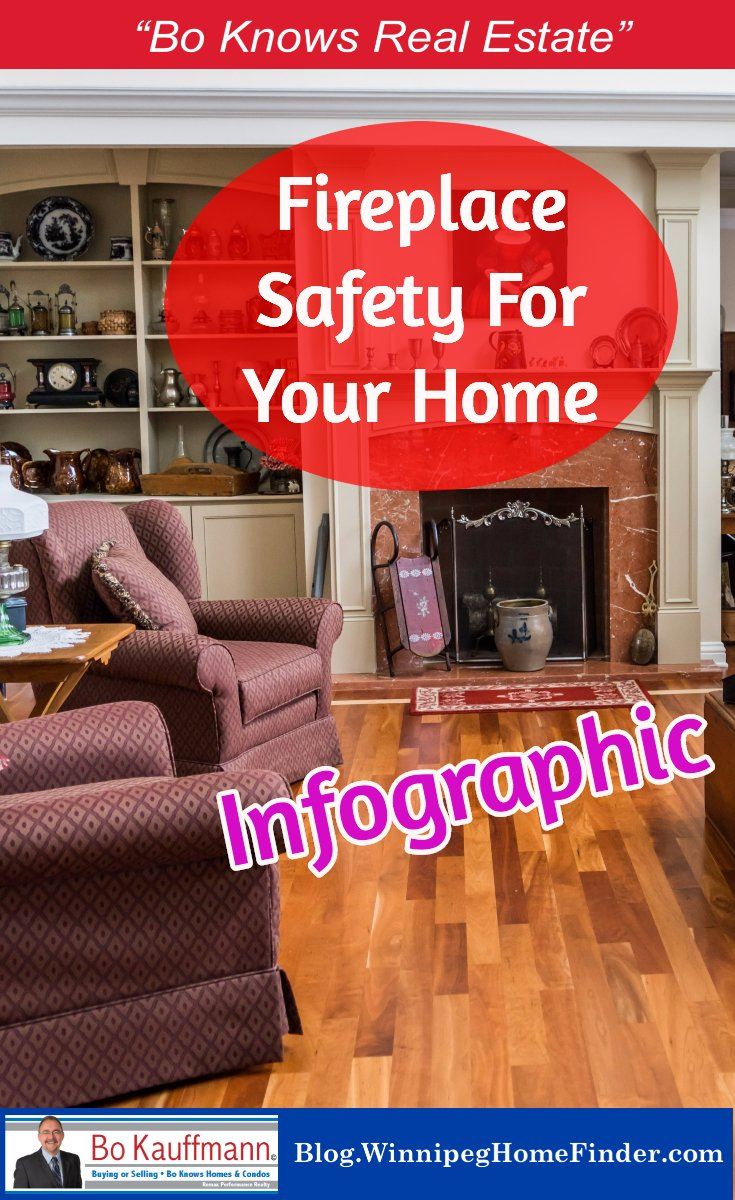 Fireplace Safety - Infographic - Safely Heating Your Home This Winter