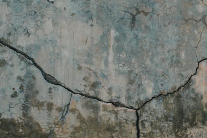 cracking and shifting foundations