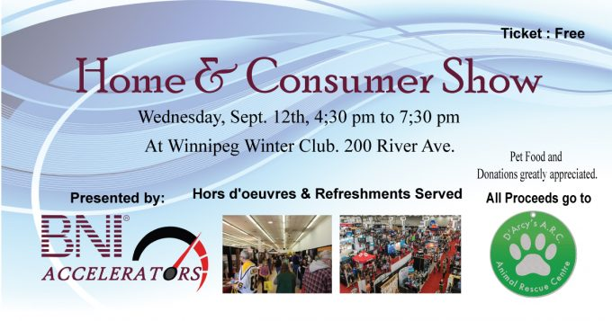 Winnipeg Home & Consumer Show - Fall 2018 - Free Home Show