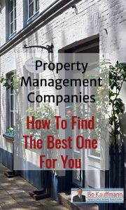 Property Management Companies - Best Practices and Features