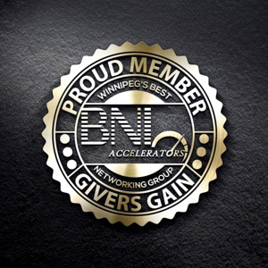 Badge of Winnipeg's Best Business Networking Group