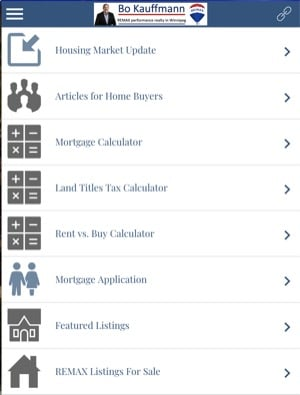 Home buyer real estate apps