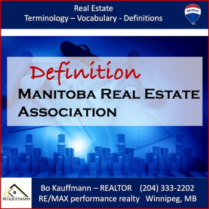 Manitoba Real Estate Assiciation