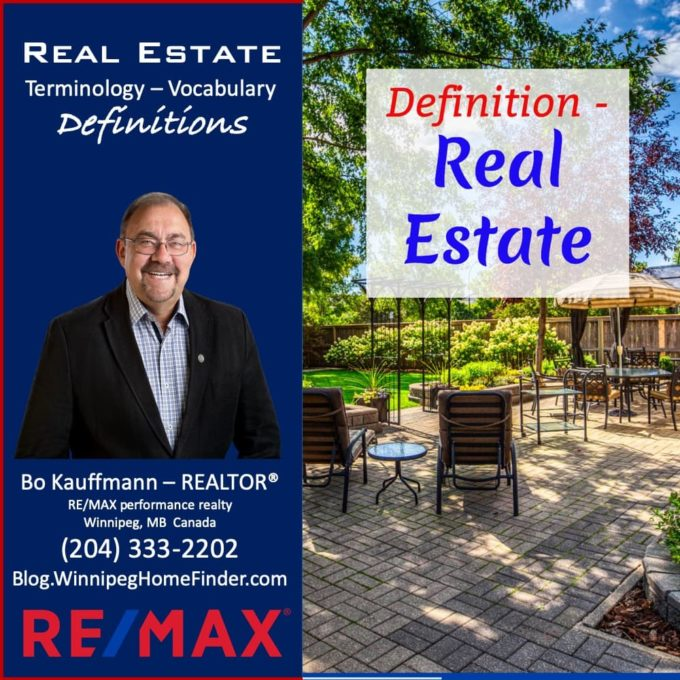 Definition of Real Estate