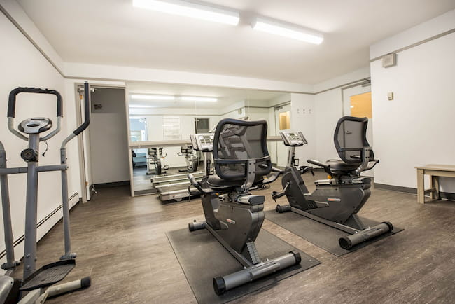 Gym at 870 Cambridge St