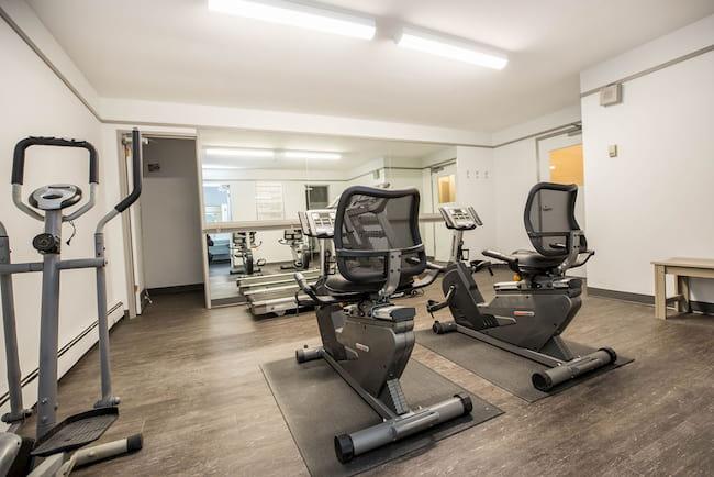 Gym at 870 Cambridge St