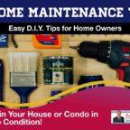 10 Home Maintenance Tips