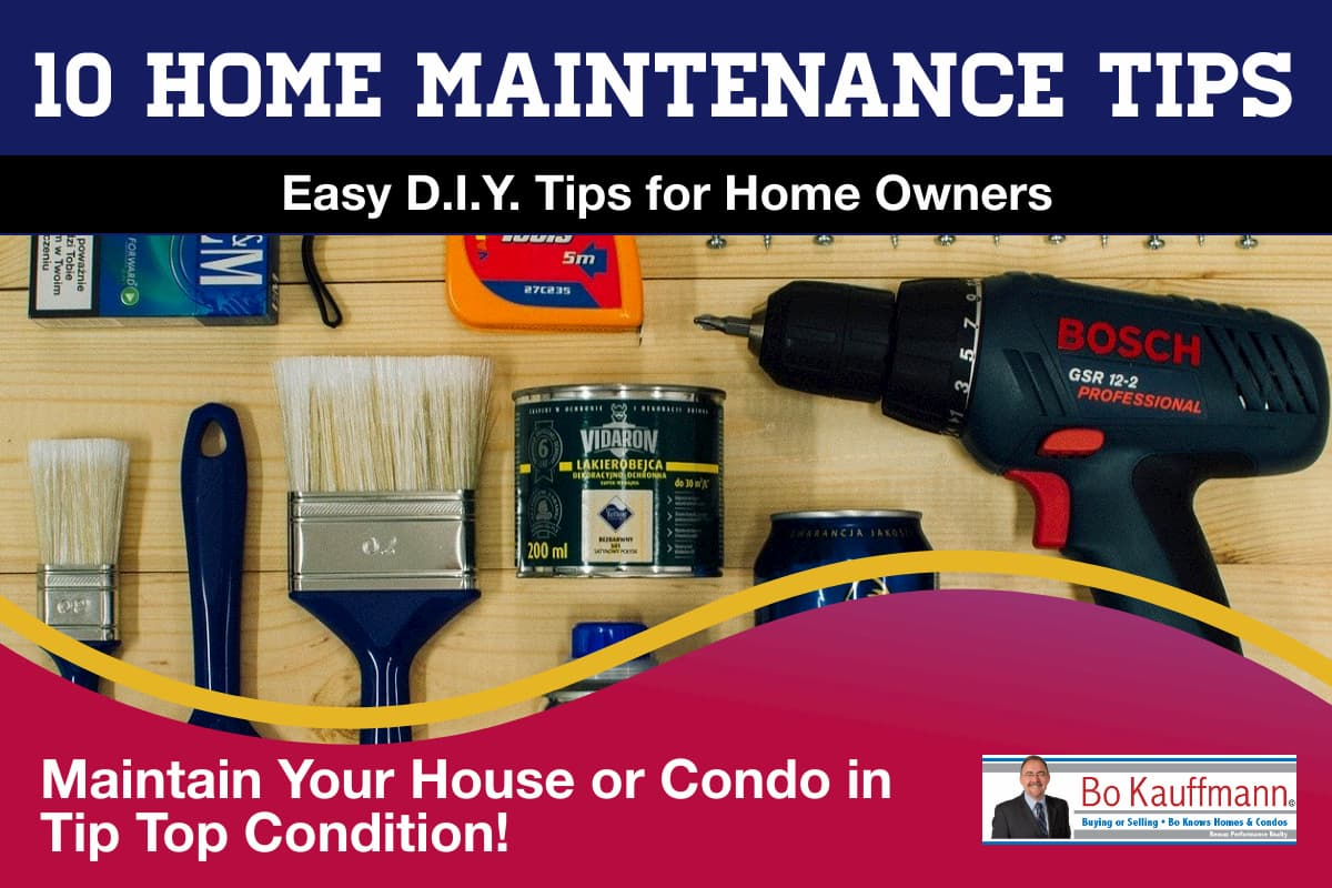10 Home Maintenance Tips