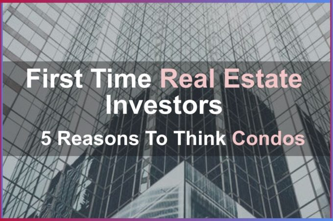 first time real estate investor