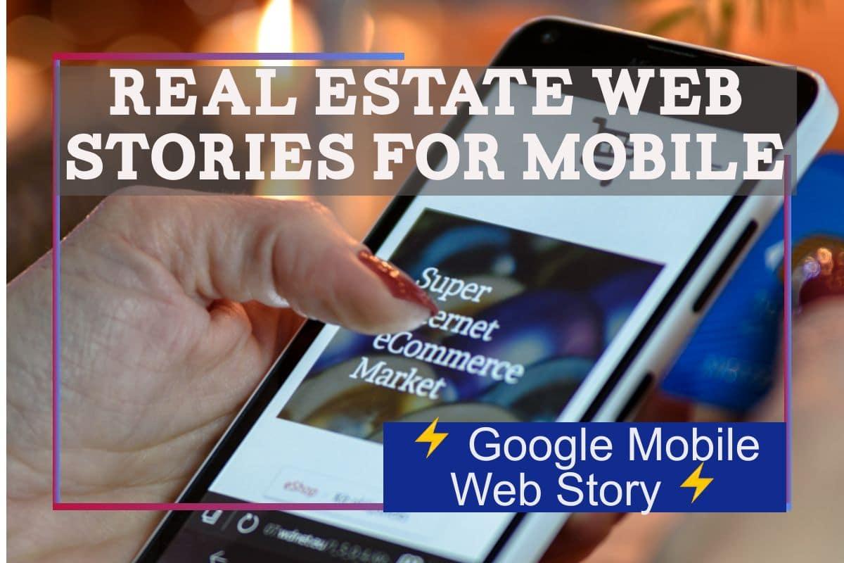 Real Estate Web Stories on Google
