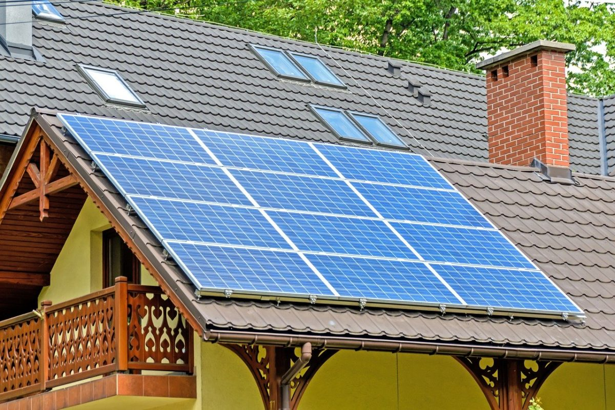 Homes with solar panels are in demand