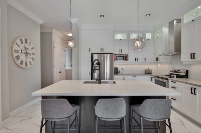 Kitchen Upgrades with lighting