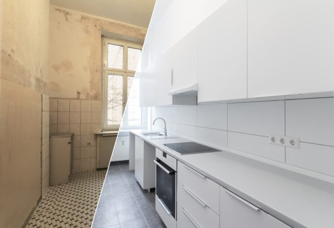Remodelling Your Kitchen - before and after